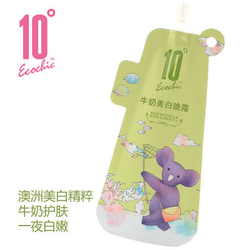 【其他】10°ECOCHIC 牛奶美白晚霜