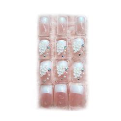 【其他】elelesD免胶水水晶贴片甲P6729