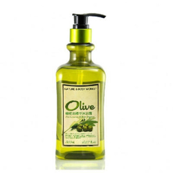 生活良品橄榄油精华沐浴露