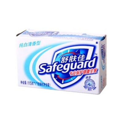 纯白清香型香皂