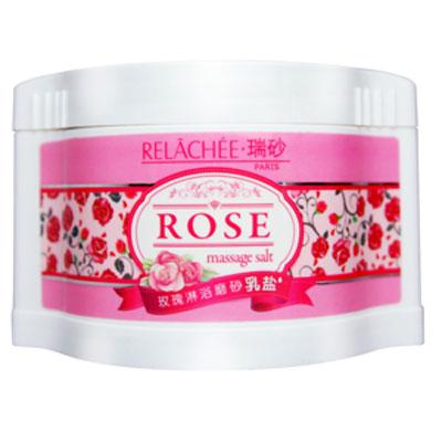 玫瑰淋浴磨砂乳盐