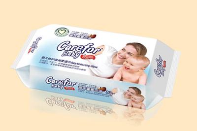 婴儿倍护滋润柔湿巾