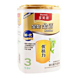 金盾幼儿配方奶粉3段