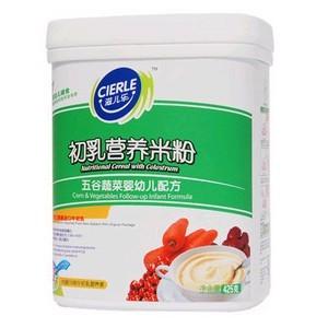 2段五谷蔬菜初乳营养米粉