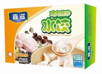 鸡肉山珍水饺