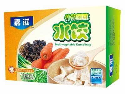 什锦蔬菜水饺