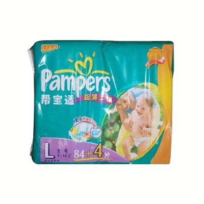 超薄干爽纸尿裤L84+4片