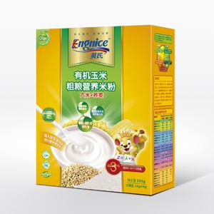 有机玉米粗粮营养米粉3段