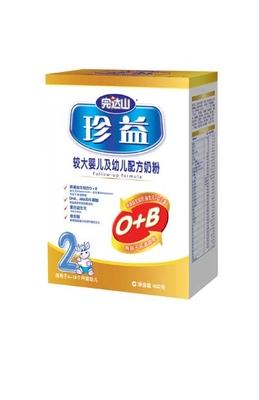 珍益较大婴儿及幼儿配方奶粉