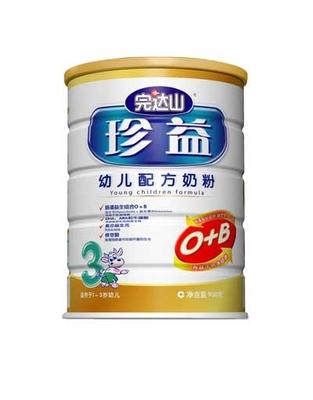 珍益幼儿配方奶粉