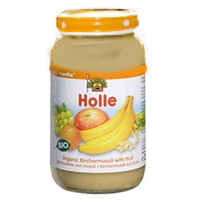 婴儿有机全麦片苹果香蕉泥