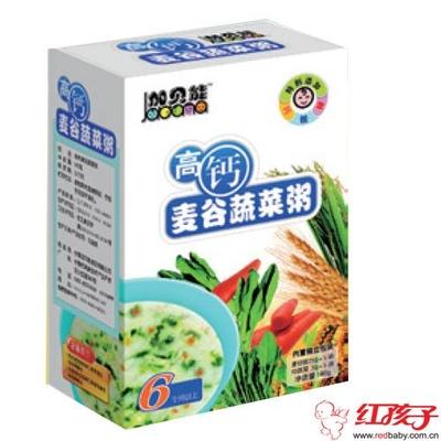 多维麦谷蔬菜粥