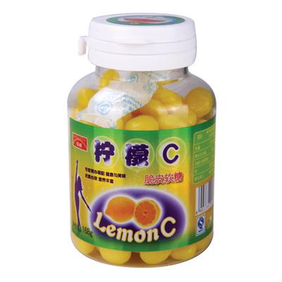 时代公仔柠檬C脆皮软糖