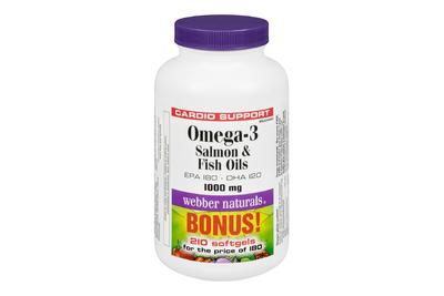 Webber Naturals Omega3  鱼油