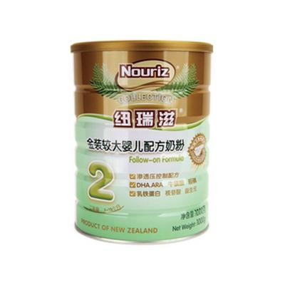 金装较大婴儿配方奶粉2段