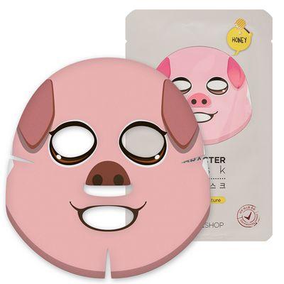 菲诗小铺动物脸谱面膜-小猪