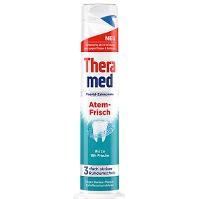 清新立式牙膏