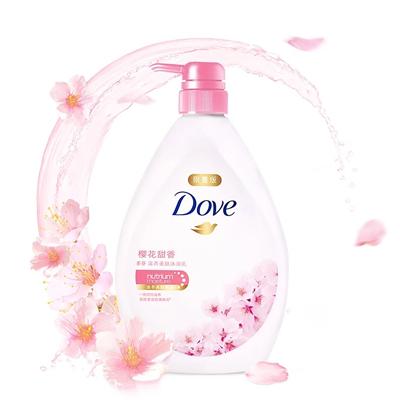 樱花甜香沐浴乳
