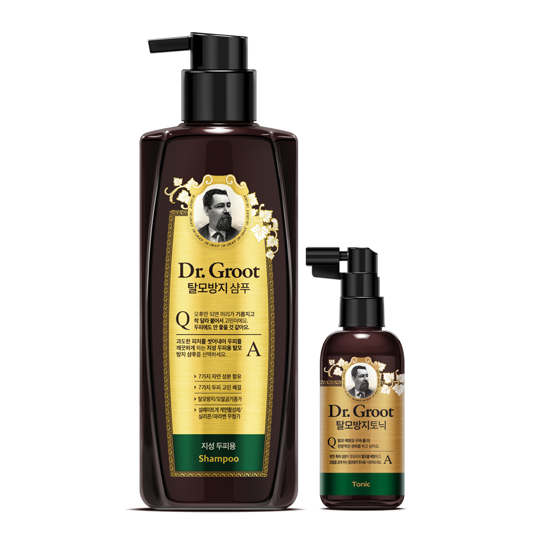 Dr.Groot 克洛特防脱发去皮脂洗发水+防脱发护理头皮水