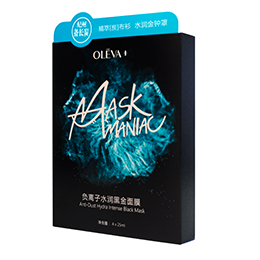 OLEVA+负离子水润黑金面膜