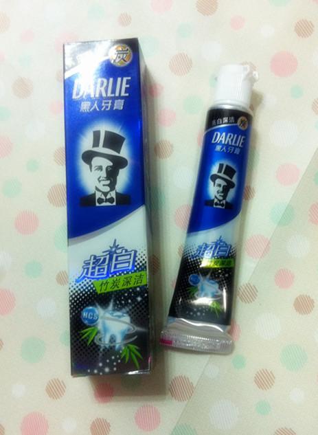 人超白竹炭深洁牙膏的评价 竹炭美白,效果明显