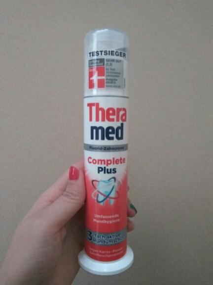 amed护齿达美白立式牙膏的评价 Theramed护齿达立式牙膏试用报告