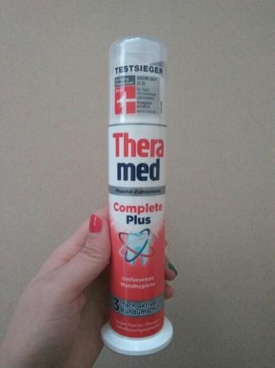 Theramed护齿达多效立式牙膏