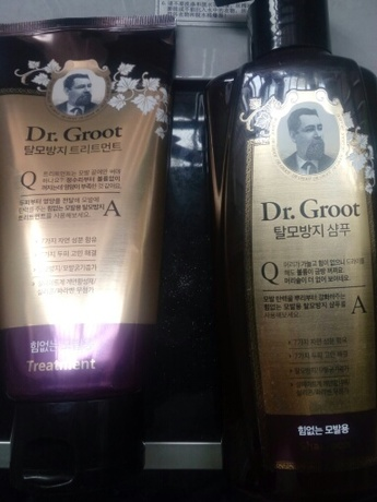 【其他】Dr.Groot 克洛特 防脱强韧秀发洗发水+护发素